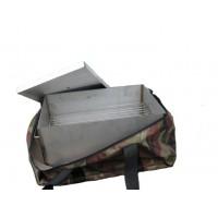 Коптильня из нержавейки для рыбы Классик 400х200х200